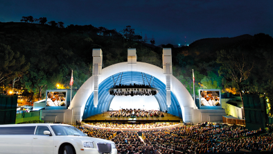 Hollywood-Bowl-LA-limo