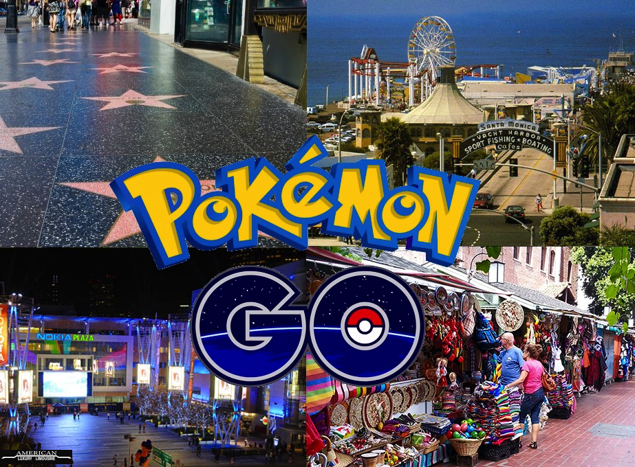 NEW Pokemon Go Limo Tours In The Greater LA Area